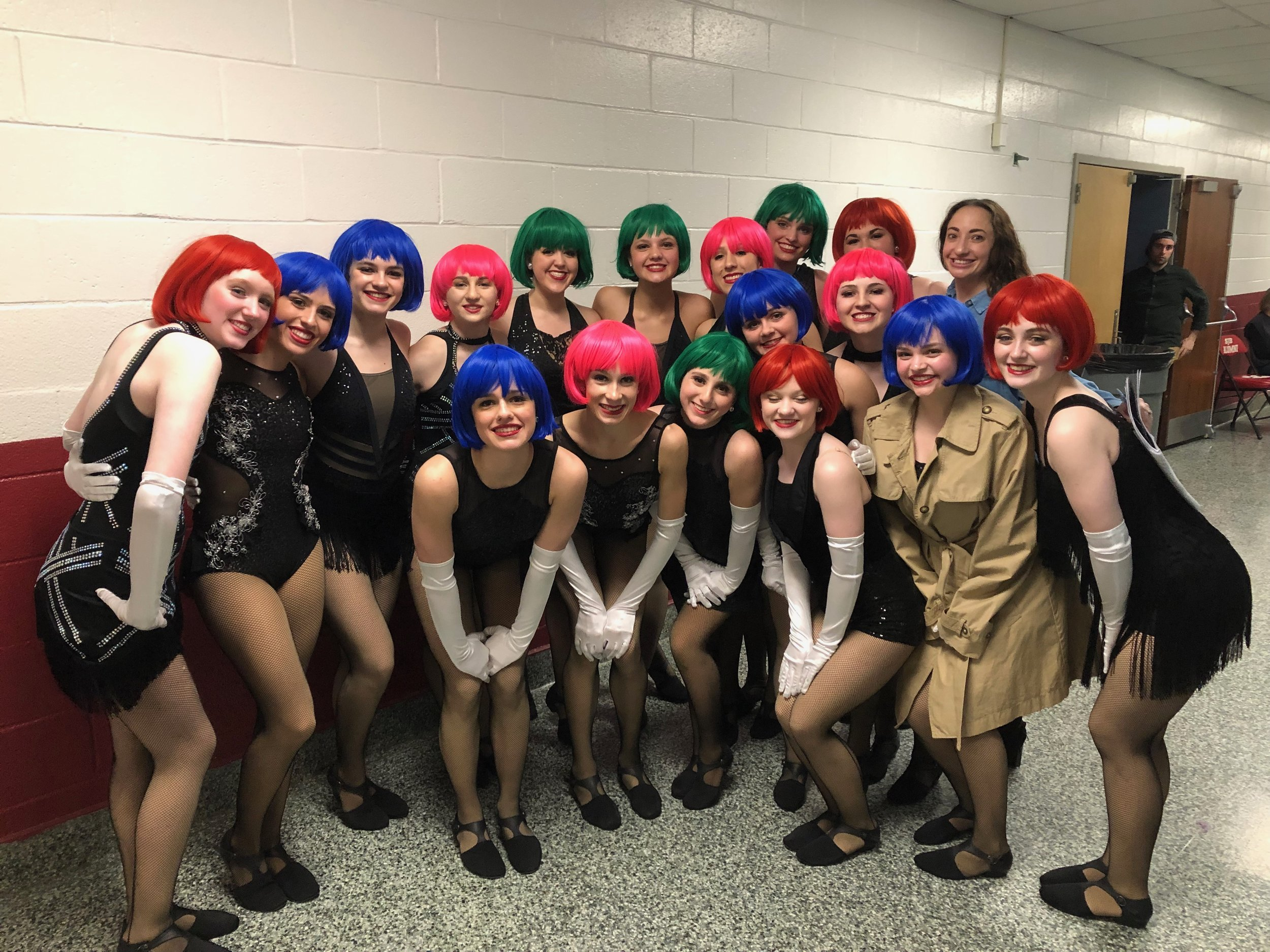 "Senior Jazz Company - ""RICH MAN'S FRUG"" with choreography by Miss Jessica Heins. (WINNER of Best Choreography!)"