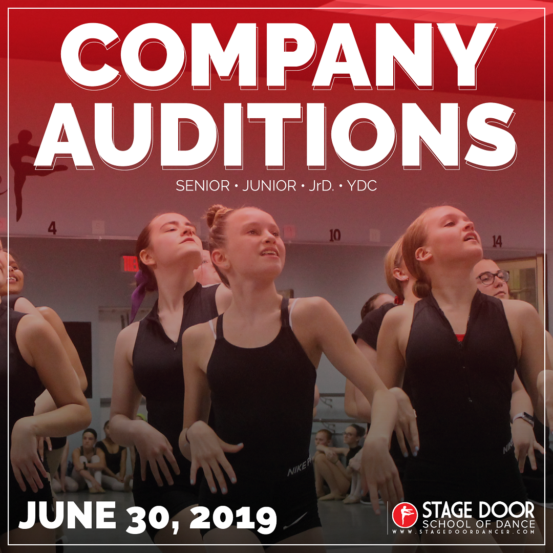 SDSD Company Auditions: Senior, Junior, JrD, YDC — Stage