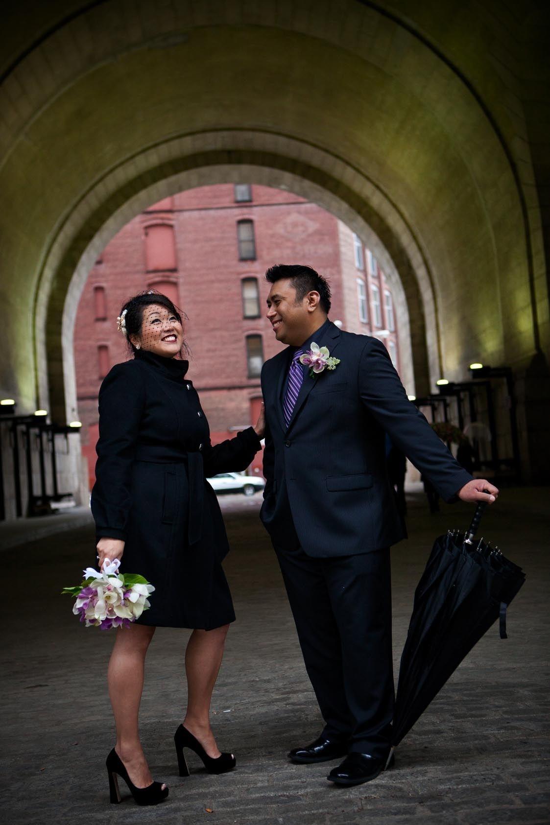 wedding at dumbo lofts