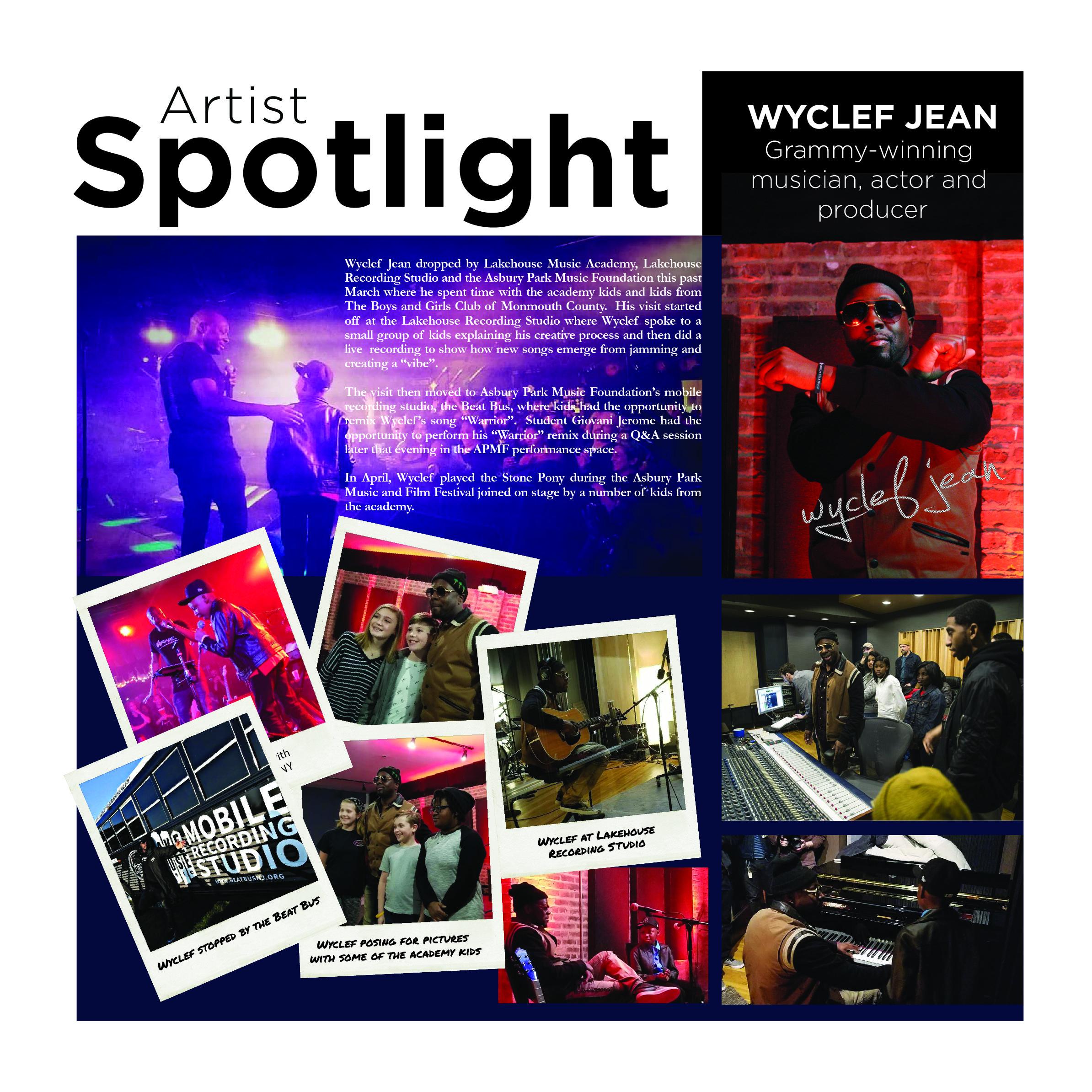 Artist Spotlight - November 2018