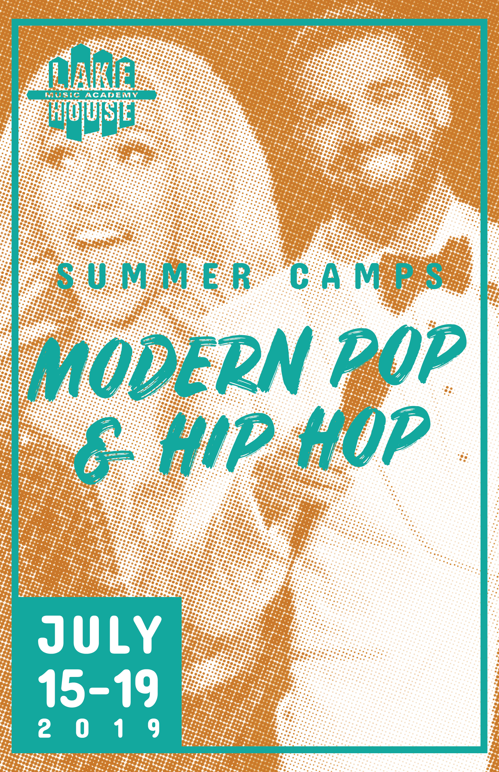 Modern pop & Hip hop - July 15 - 19