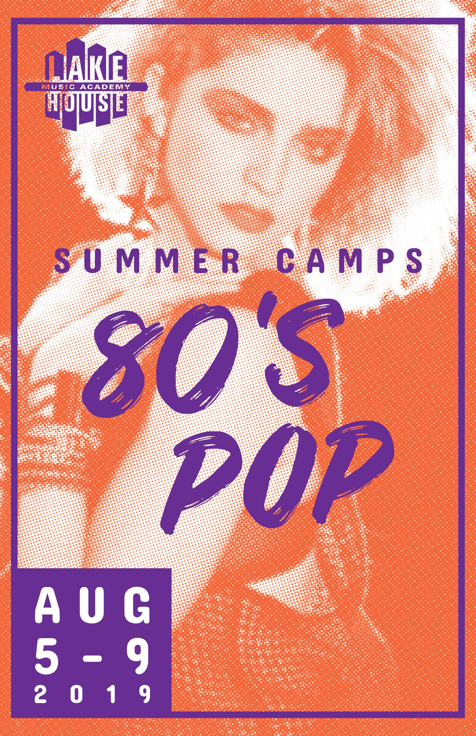 80's pop - August 5 - 9