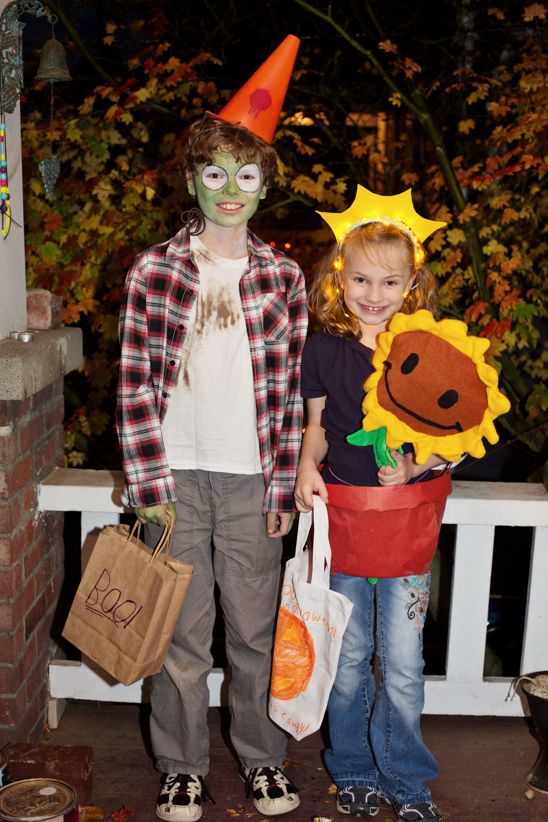 There was a  zombie on your lawn  last Halloween, if you live on our street.
