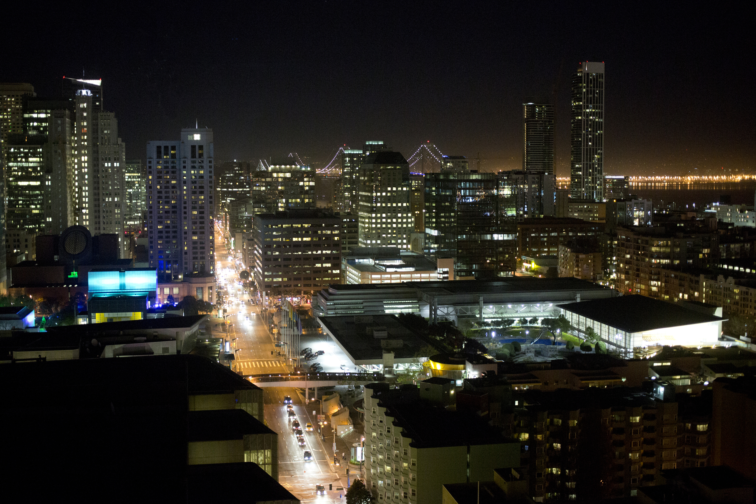 There were record high March temps last week at GDC, equally gorgeous at night!
