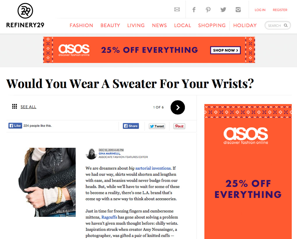 Featured Accessory in Refinery29
