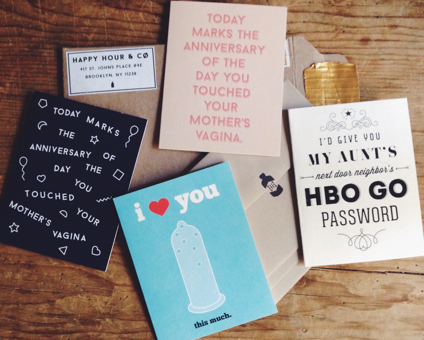 cards from Happy Hour & Co.