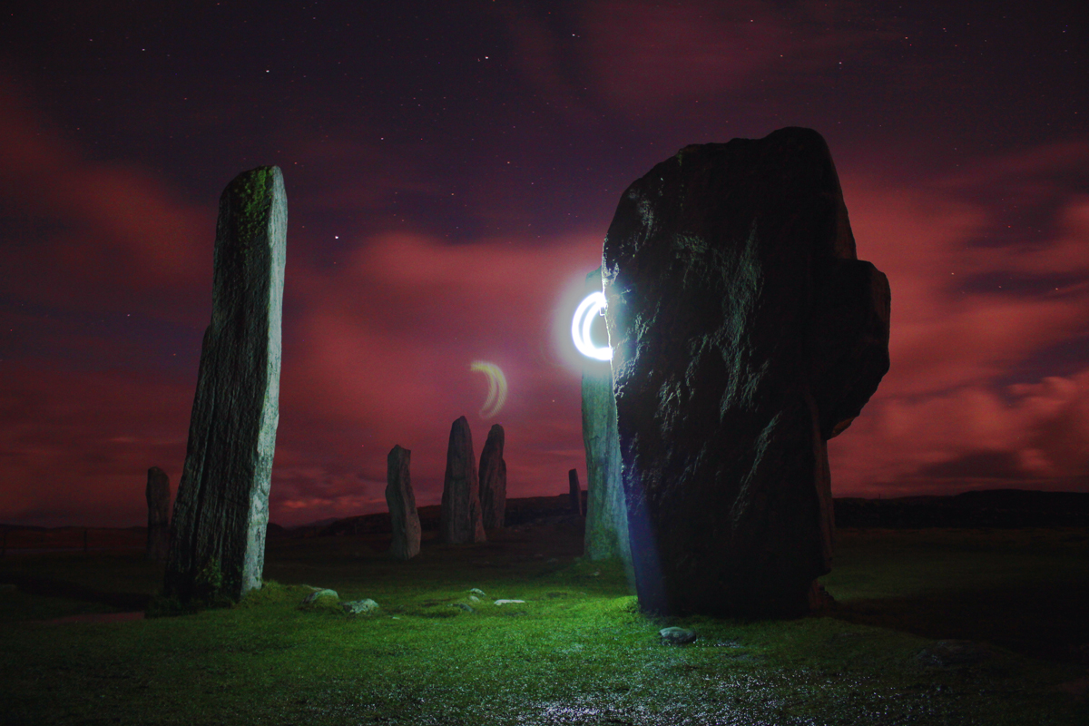Synthetic Sunshine at the Callanish Stones