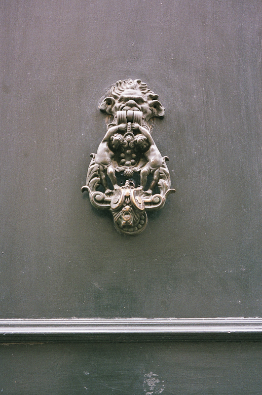 Door Knocker, Paris 2013
