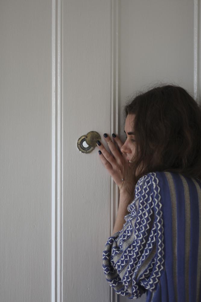 Freya at home, Brooklyn 2013