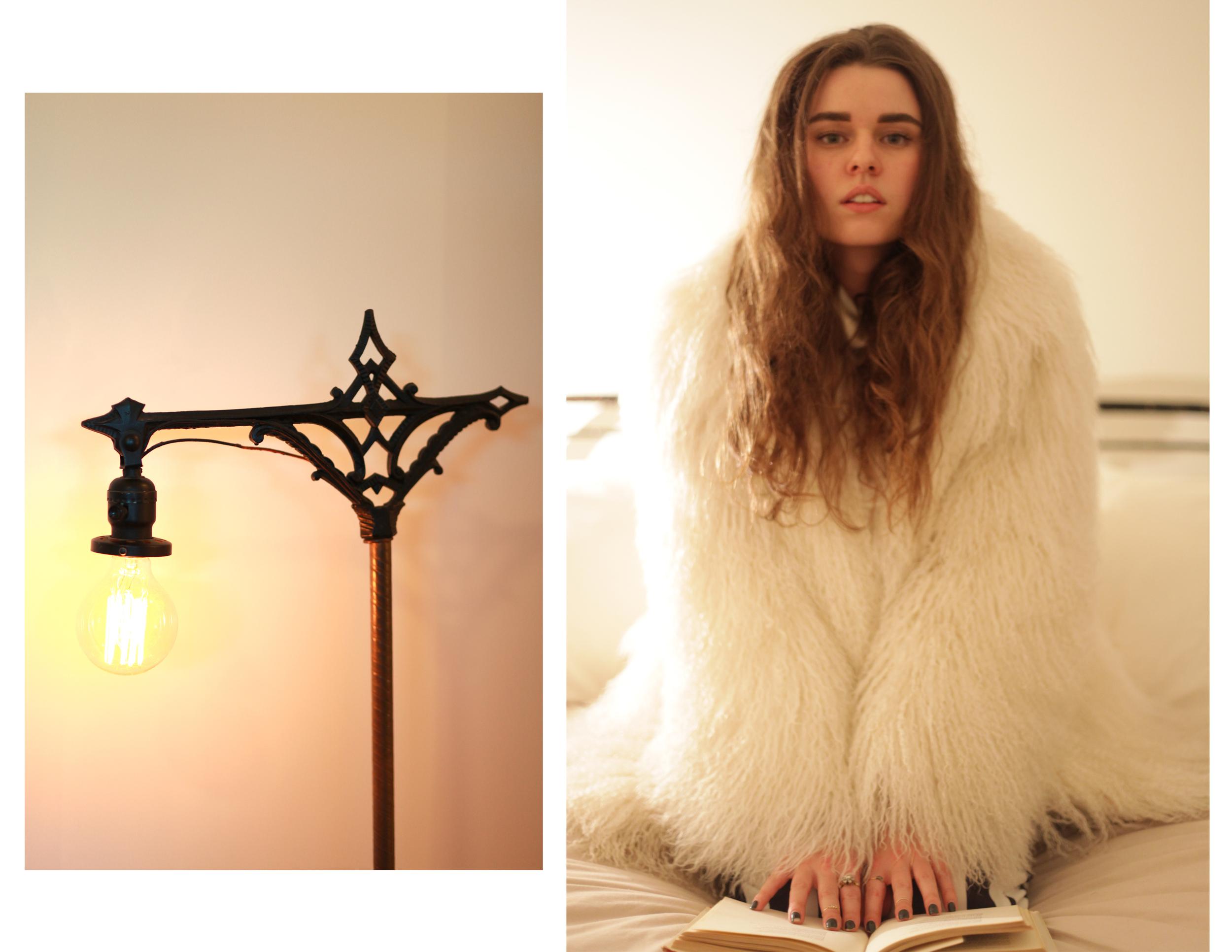 Freya at home, Brooklyn 2014