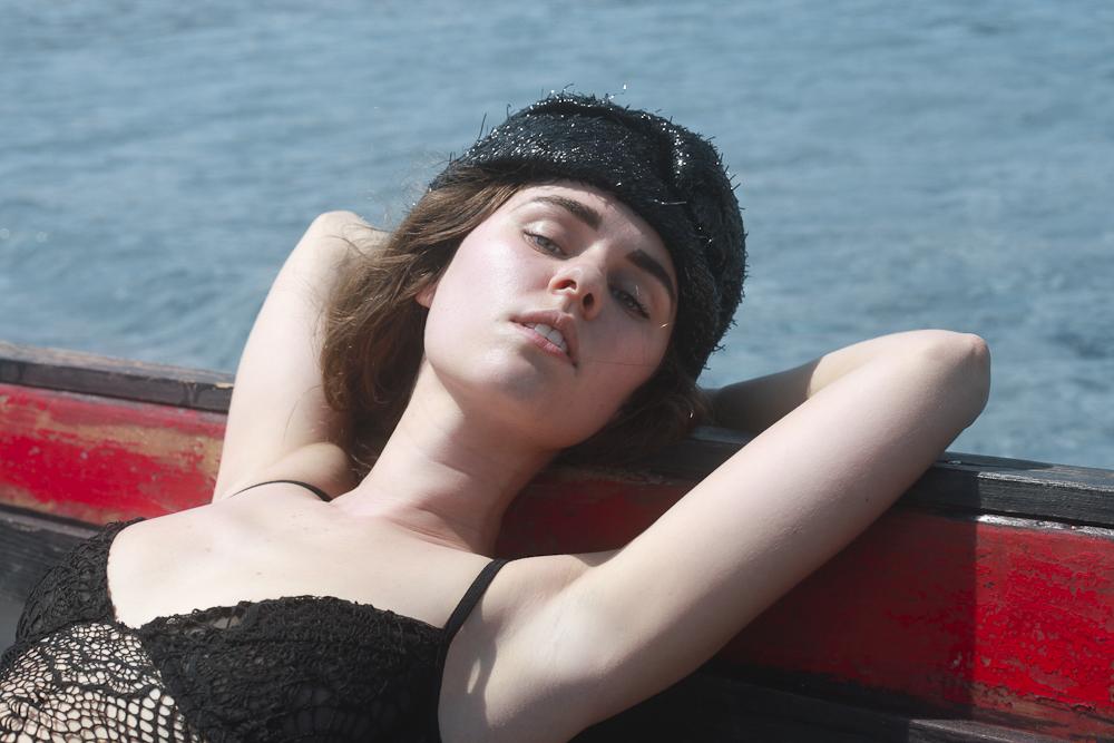 Freya in Dolce & Gabbana, For Love & Lemons and Catbird