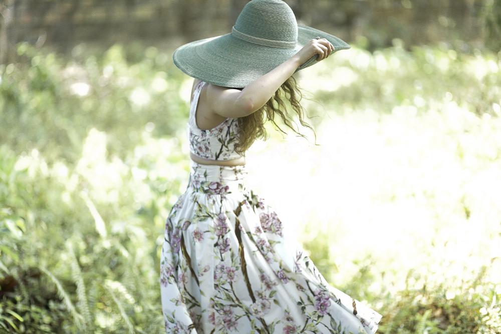 Freya in Dolce & Gabbana and vintage