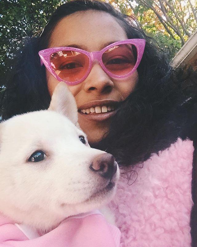 Puppyyyy 💕 the liddle lashesssss 😩