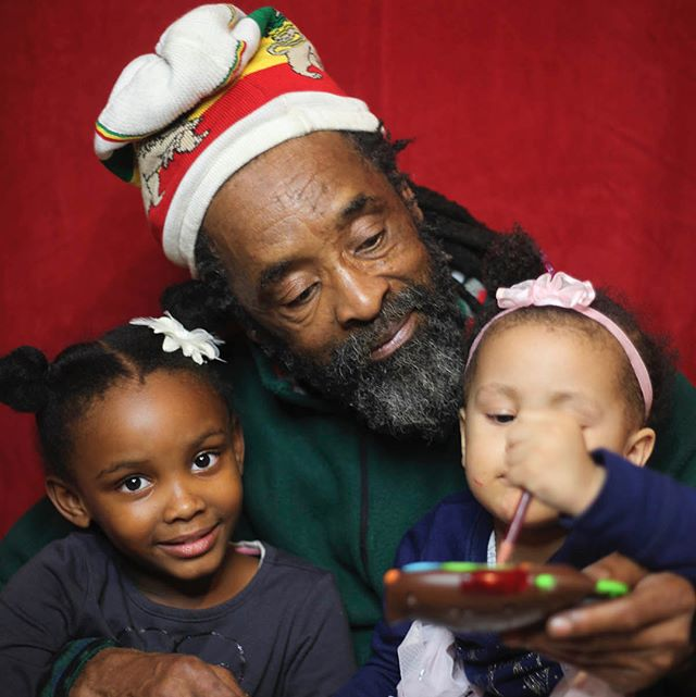 The first one I call Rasta Santa ❤️ the others are the beautiful fathers in my family. Merry Christmas!
