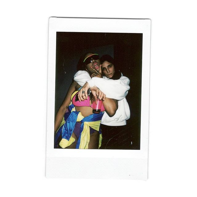 TGI FRIDAI 💕 @yesyesninobrown and @daiburger post slaying the stage at last night's Toronto stop of the Nailz & Ponytailz tour ✨ . . . . . . . .  #thisismycommunity #myinstax @fujifilm_instax_northamerica #profile_vision #filmfeed #untoldvisuals #torontoigers #wethenorth #toronto #torontolife #blogto #downtowntoronto #the6ix #thesix #yyz #torontofashion  #artofvisuals #yougotitright #agameoftones #filmisnotdead #portraitpage #daiburger