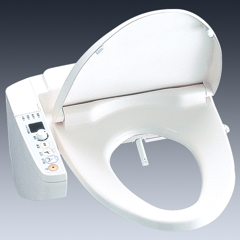 It's important to note here that the word washlet is a registered trademark of the Japanese toilet company Toto. In the above photo you can see the model TCF671A.