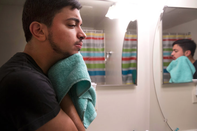 I pitched, photographed and wrote a story about Sami Younes, a transgender Arab-Latino man navigating his new gender role.   https://www.npr.org/sections/codeswitch/2014/01/23/211657513/what-sami-discovered-on-the-way-to-becoming-a-man-of-color