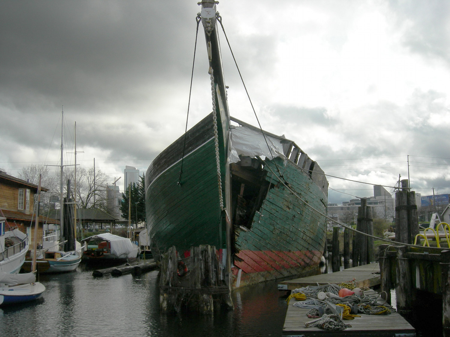 Wawona at South Lake Union, Seattle, 2009