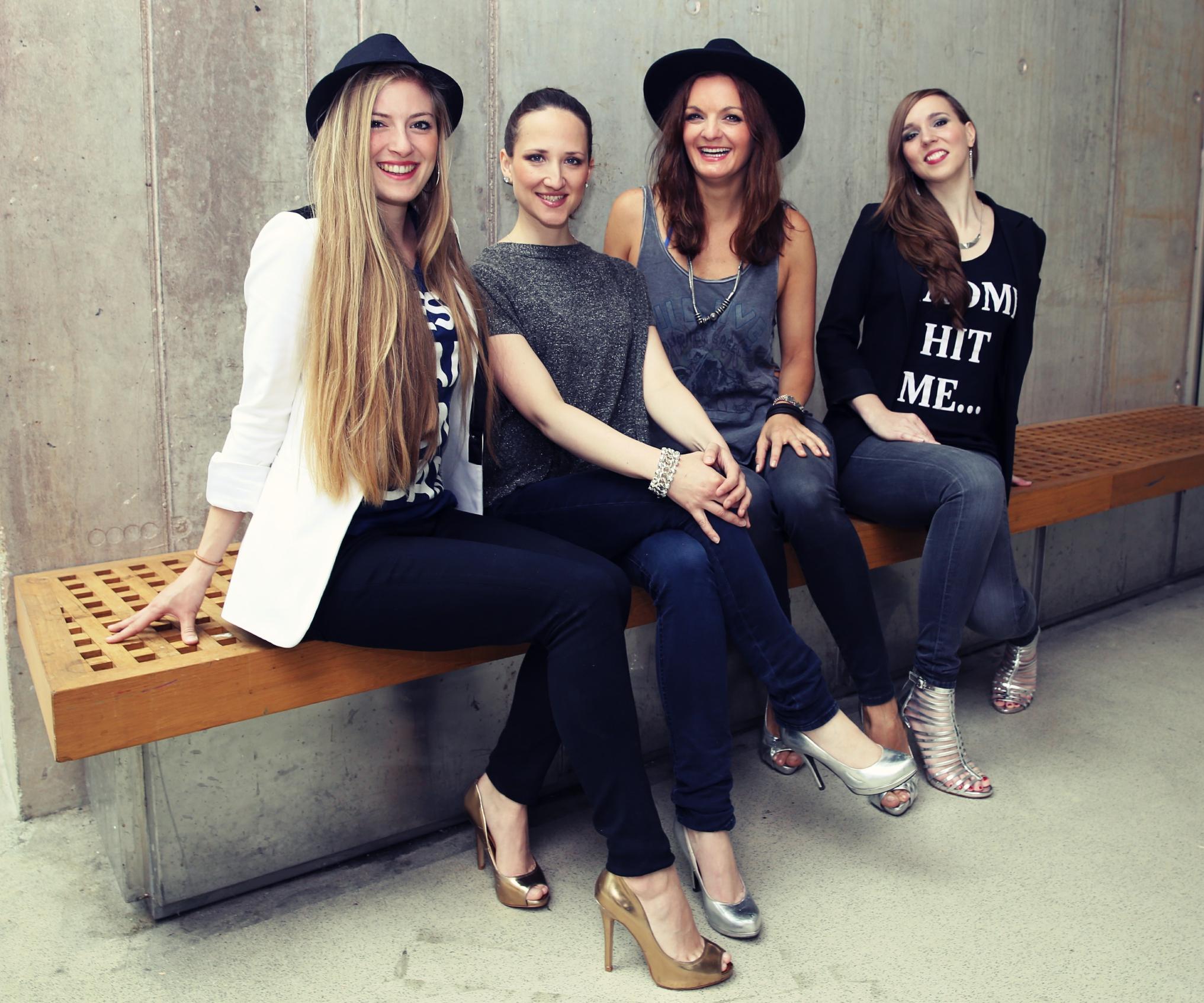 Frauen Band Sunset Orange mit DJane für Lounge, Dinner und Party