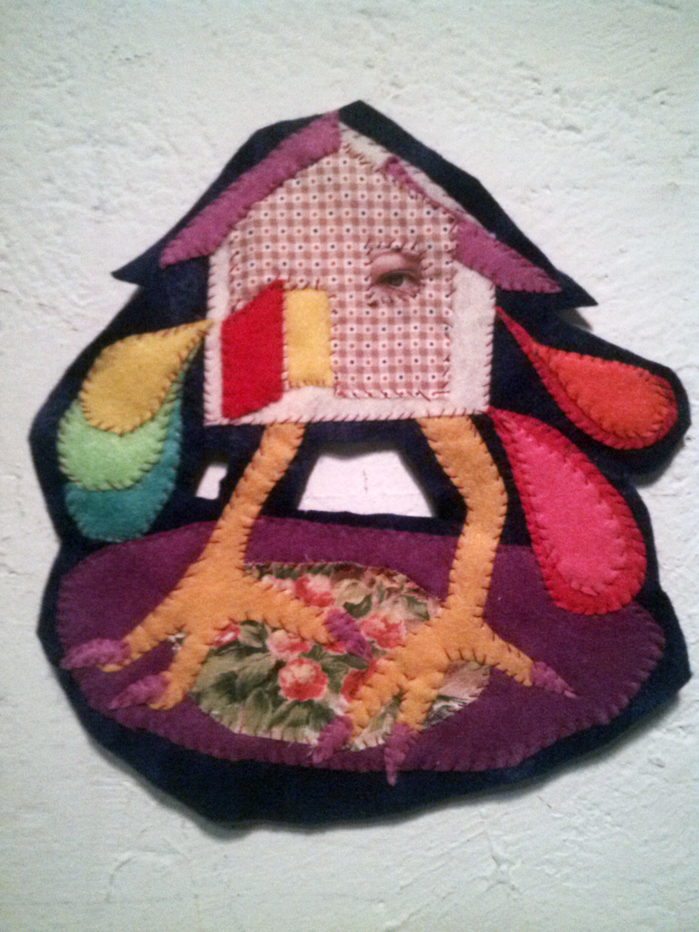 Esther Neff, babayagahouse,2018, found fabric, thread.jpg