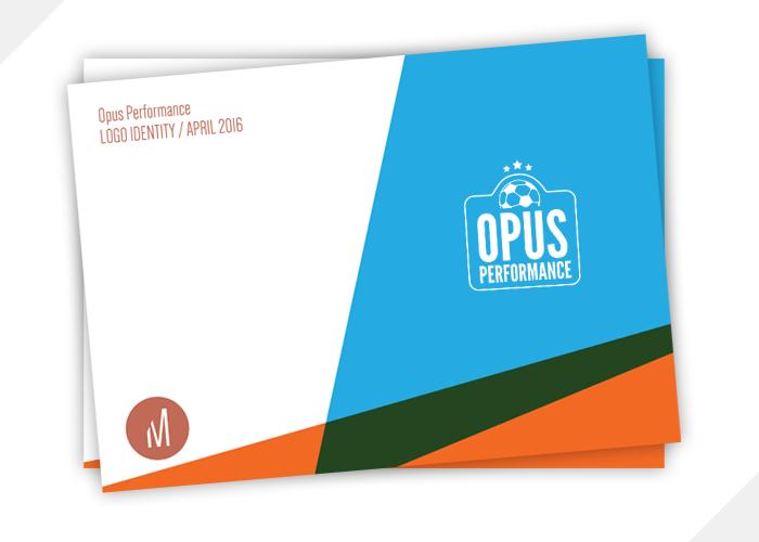 Opus Performance's identity pack.