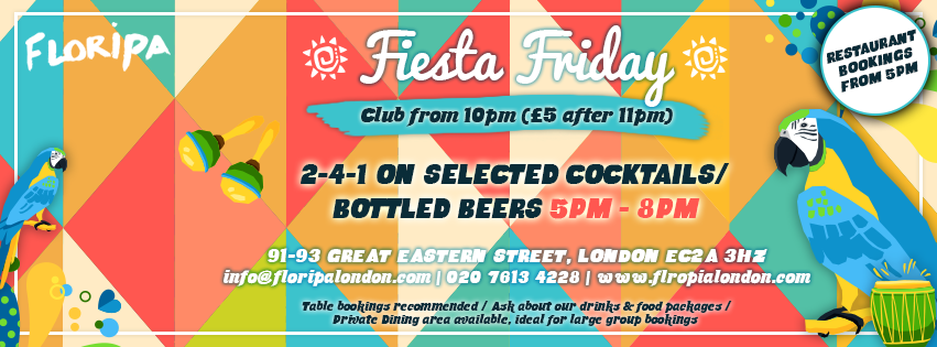 Facebook Cover Photo - Fiesta Friday