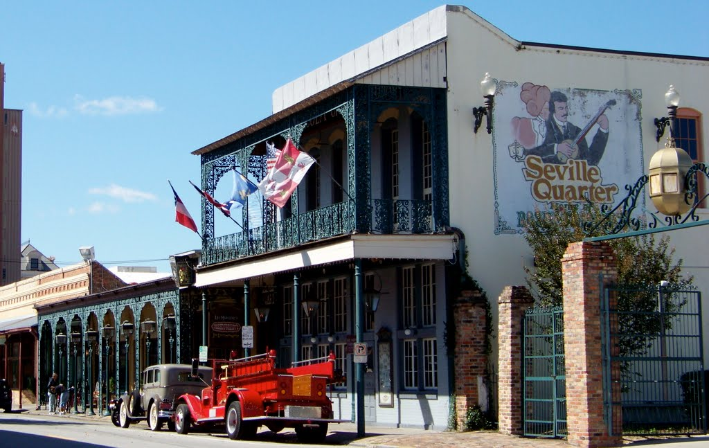 Seville Quarter- If you have gone clubbing in Pensacola then chances are you have been here before.