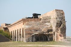 The catacombs of Ft. Pickens