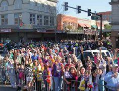 Mardi Gras!    All images via