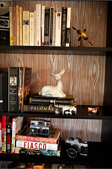 Great addition to a well-styled bookshelf