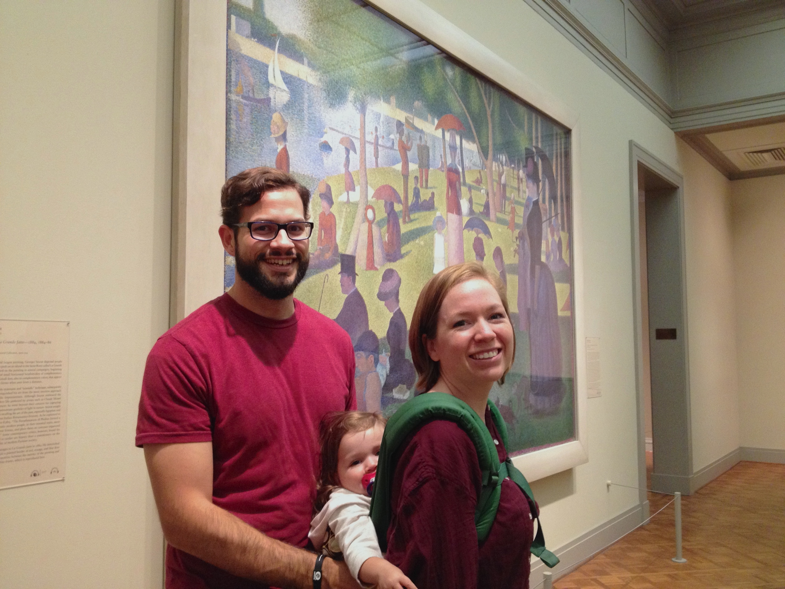The Art Institute of Chicago has one of the best impressionist collections I've ever seen. My one regret is not spending very much time in that wing. Check out Seurat's famous  A Sunday afternoon on the Island of La Grande Jatte.