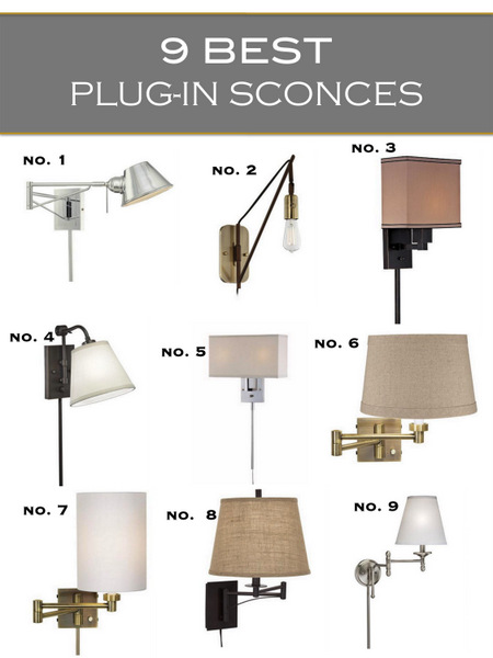 best plug in sconces 3a design studio