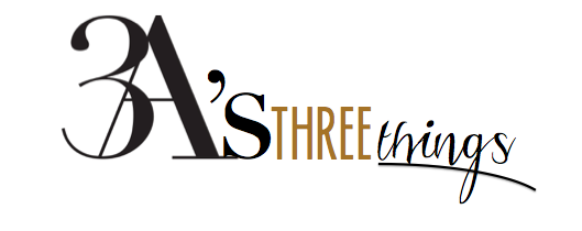 3as three things