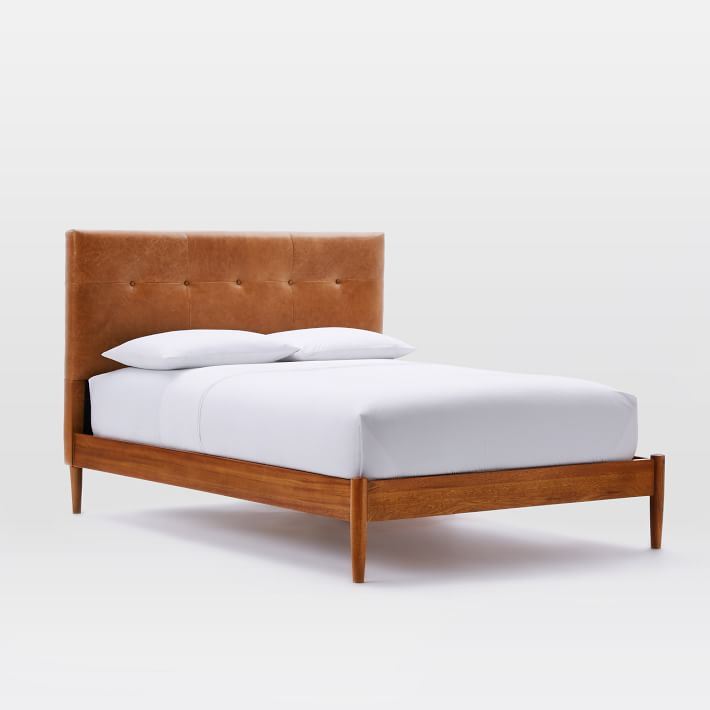West Elm Mid-Century Bed
