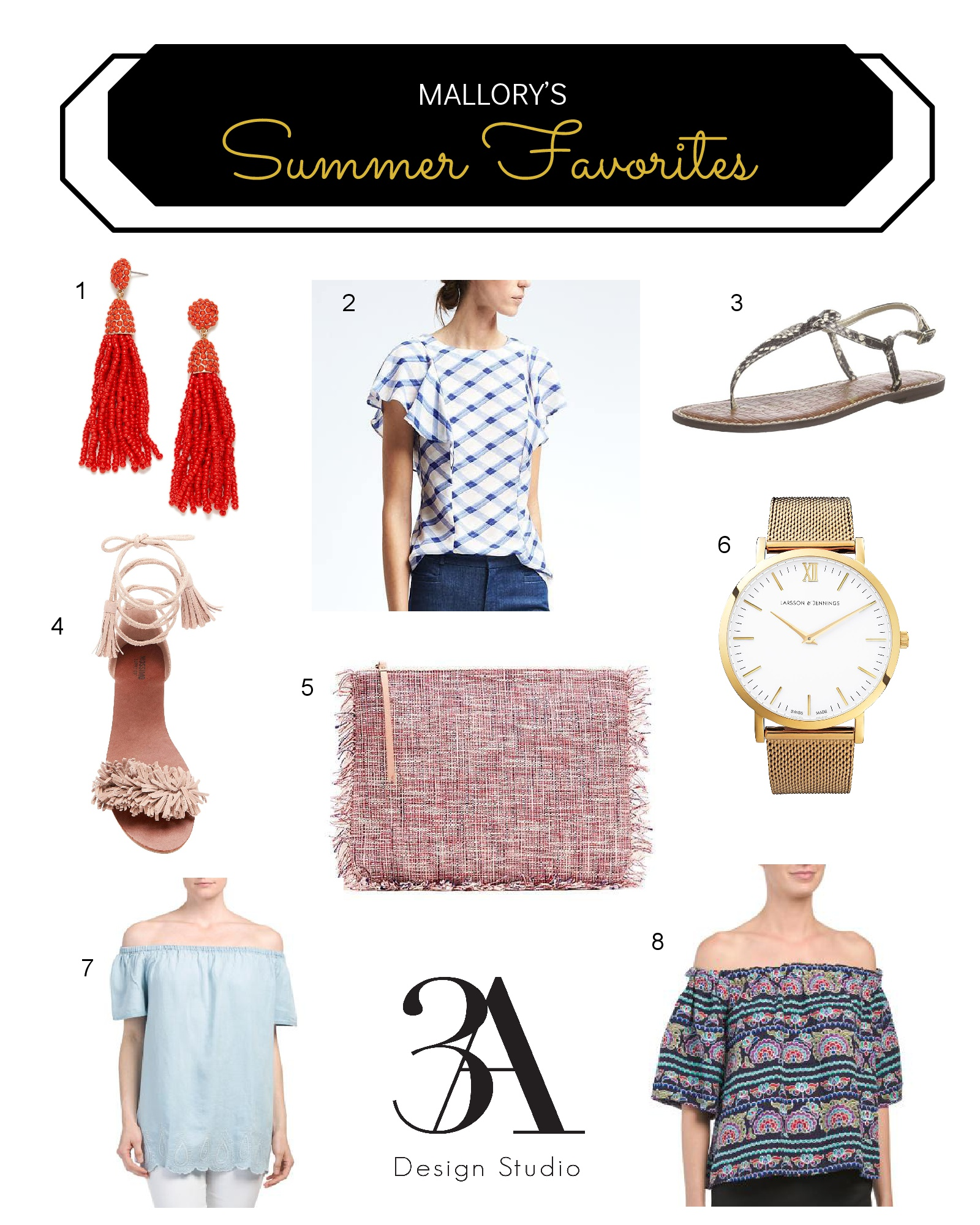 summer fashion favorities 3a design studio
