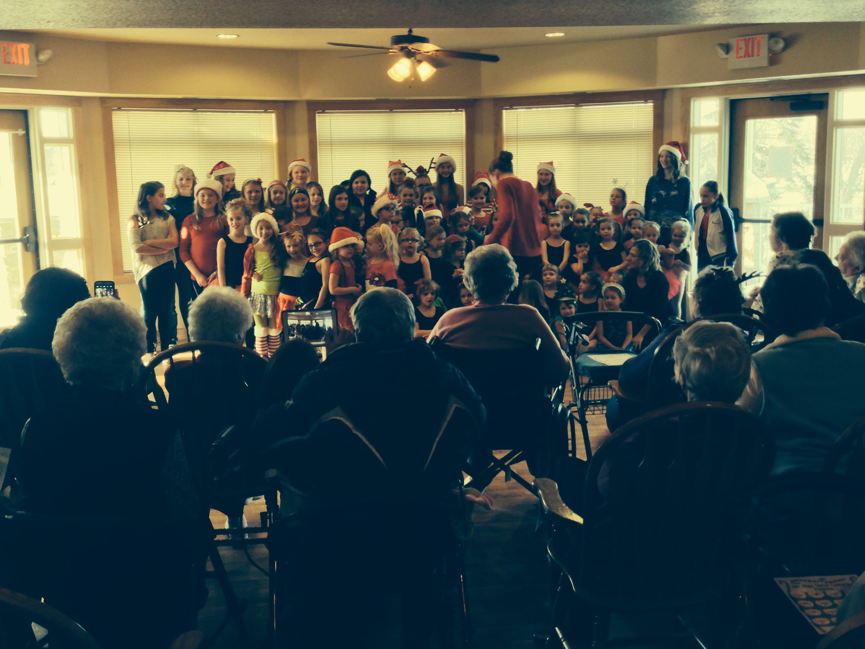 Assisted Living Holiday Party
