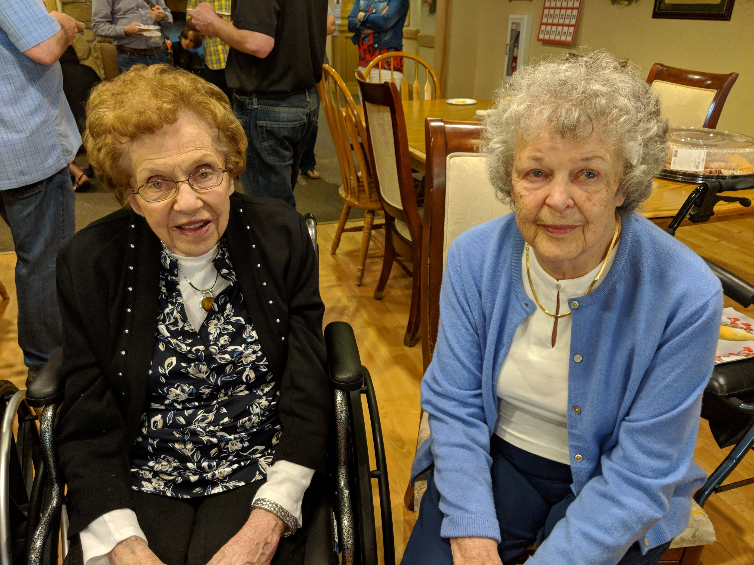 Ray & Bing's 70 wedding anniversary and Bing's 90th birthday celebration! 1.jpg