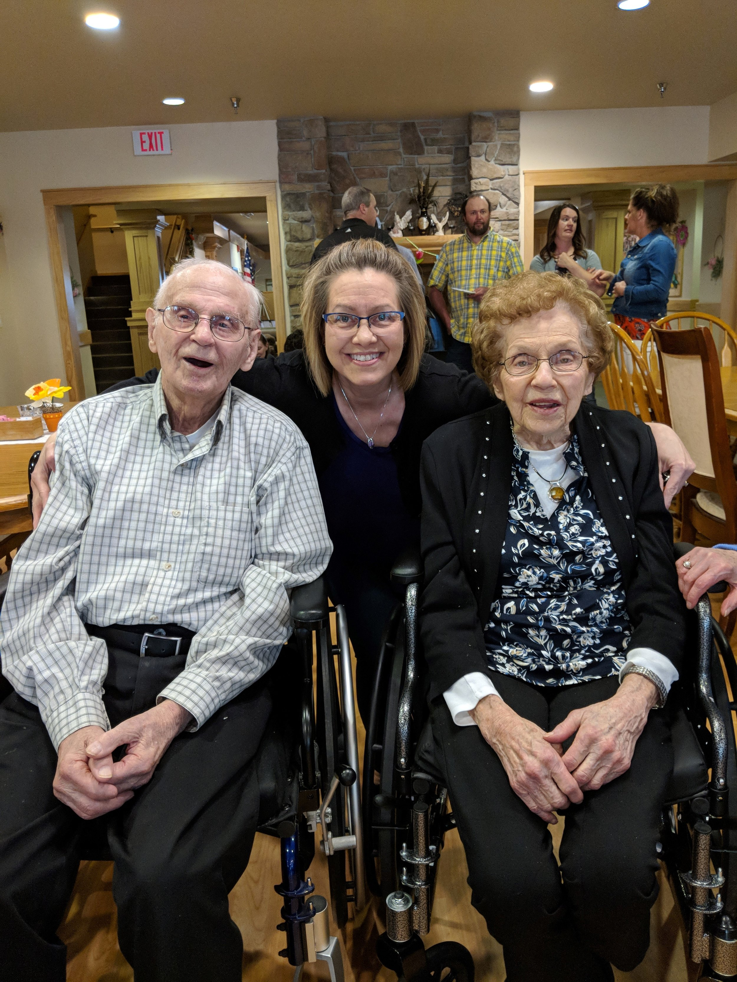 Ray & Bing's 70 wedding anniversary and Bing's 90th birthday celebration! 2.jpg