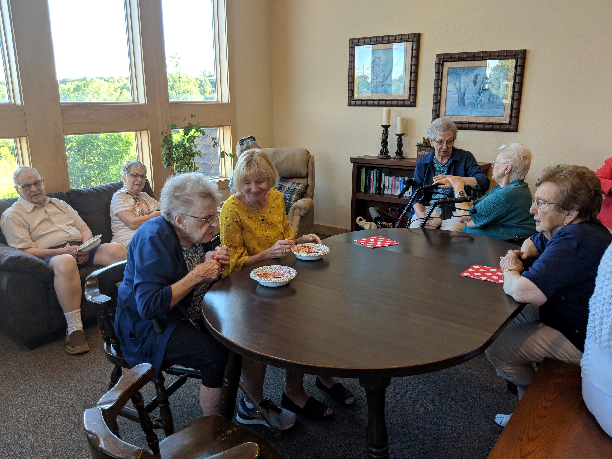 Strawberry Shortcake Family Social!! Free will donations were given towards the Alzheimer's Association. Thank you to everyone who came out and enjoyed this delicious treat for a great cause ❤️!.jpg