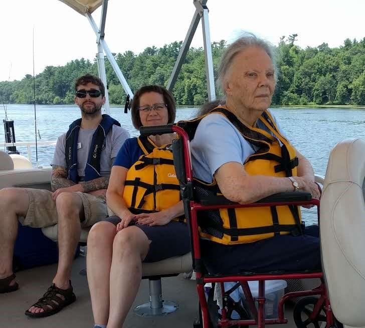 Ladies Pontoon ride on the Red Cedar River. 1.jpg
