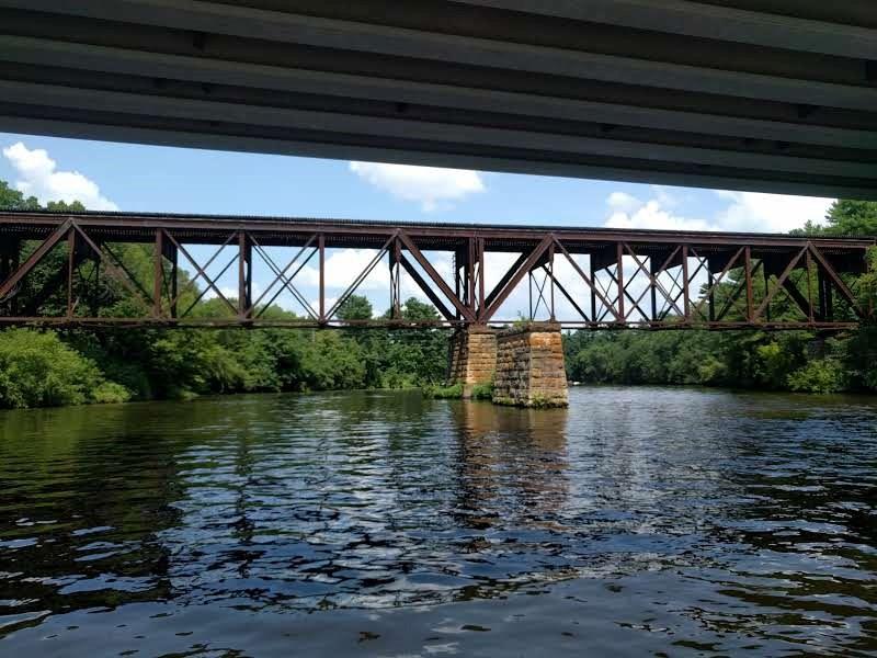 Ladies Pontoon ride on the Red Cedar River. 4.jpg