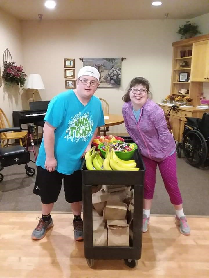 Our wonderful visitors from the Arc of Dunn 2019!! We love our Arc friends! Thank you for helping with bingo and entertaining us year round. We really appreciate each and everyone of you! 1.jpg