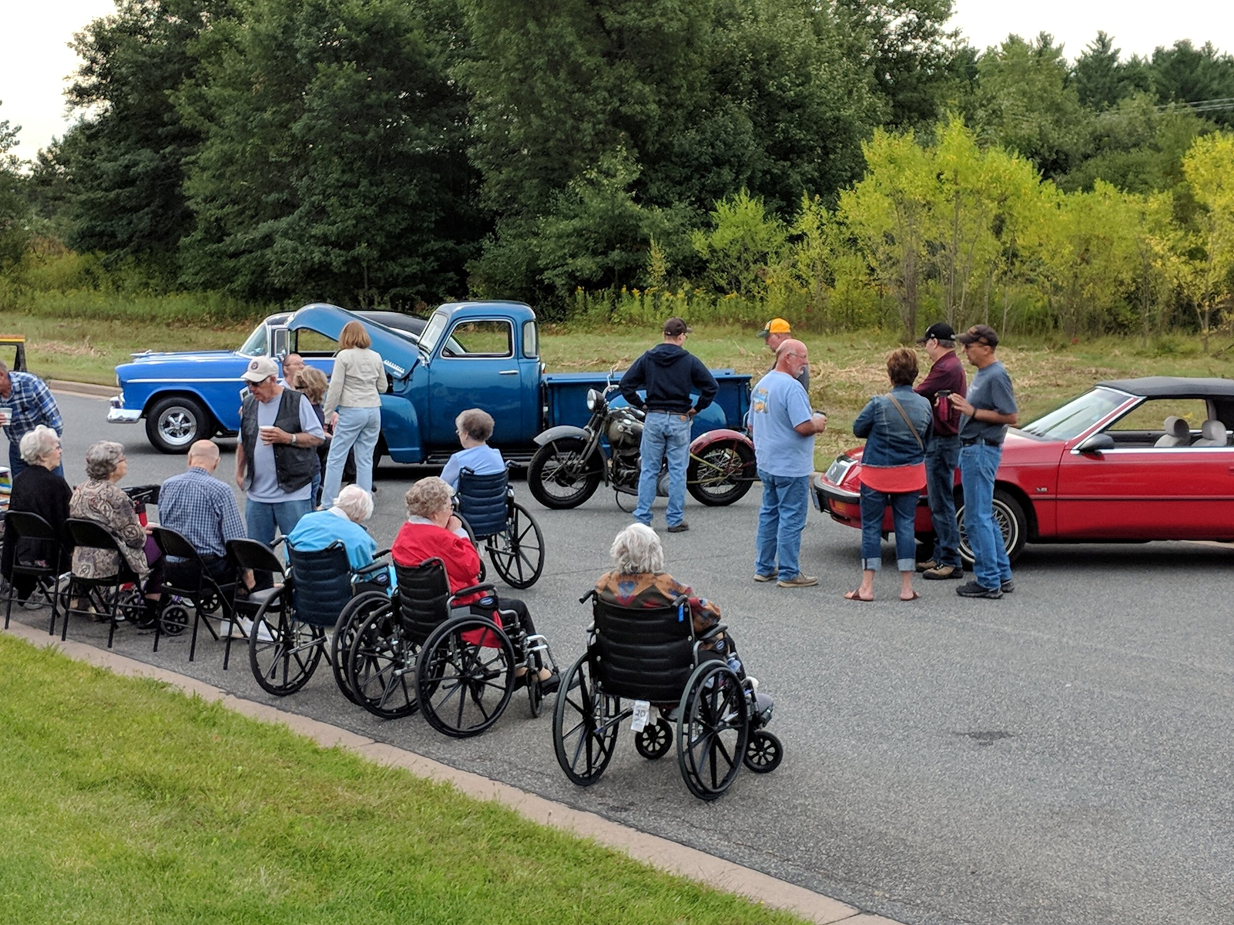 Kickoff of National Assisted Living Week Car Show! 4.jpg