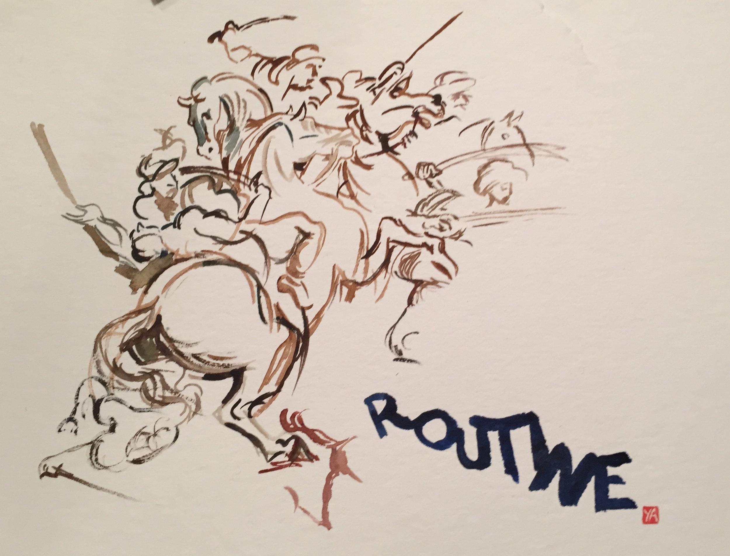 Routine Battle