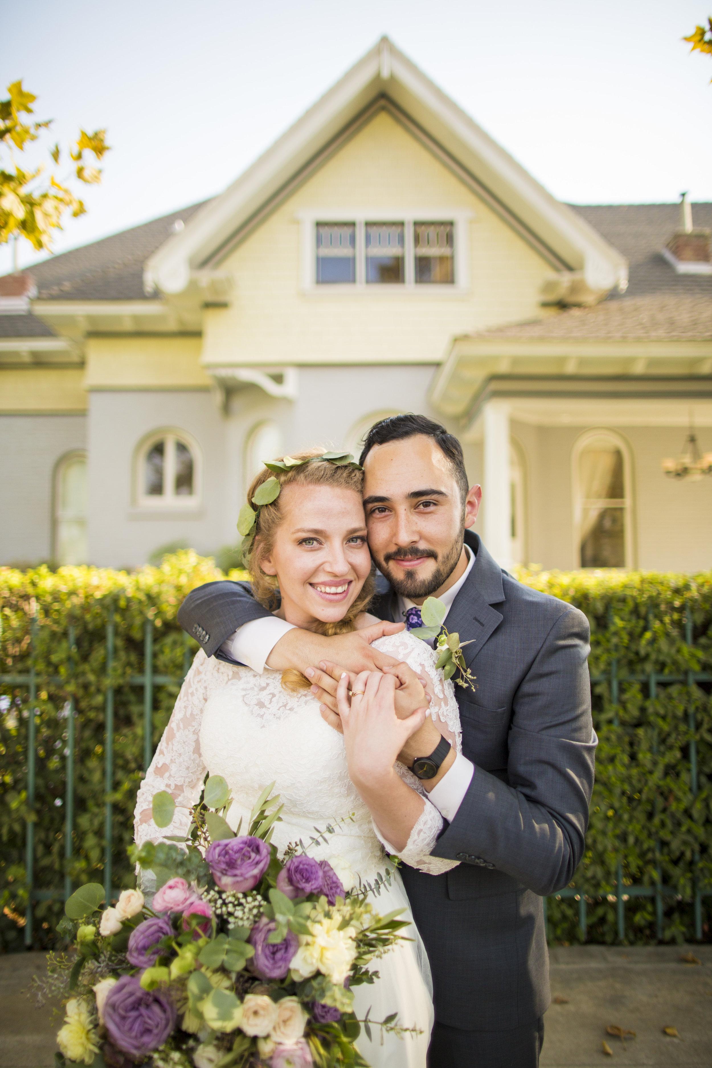 Pierce Wedding Noriega House Bakersfield