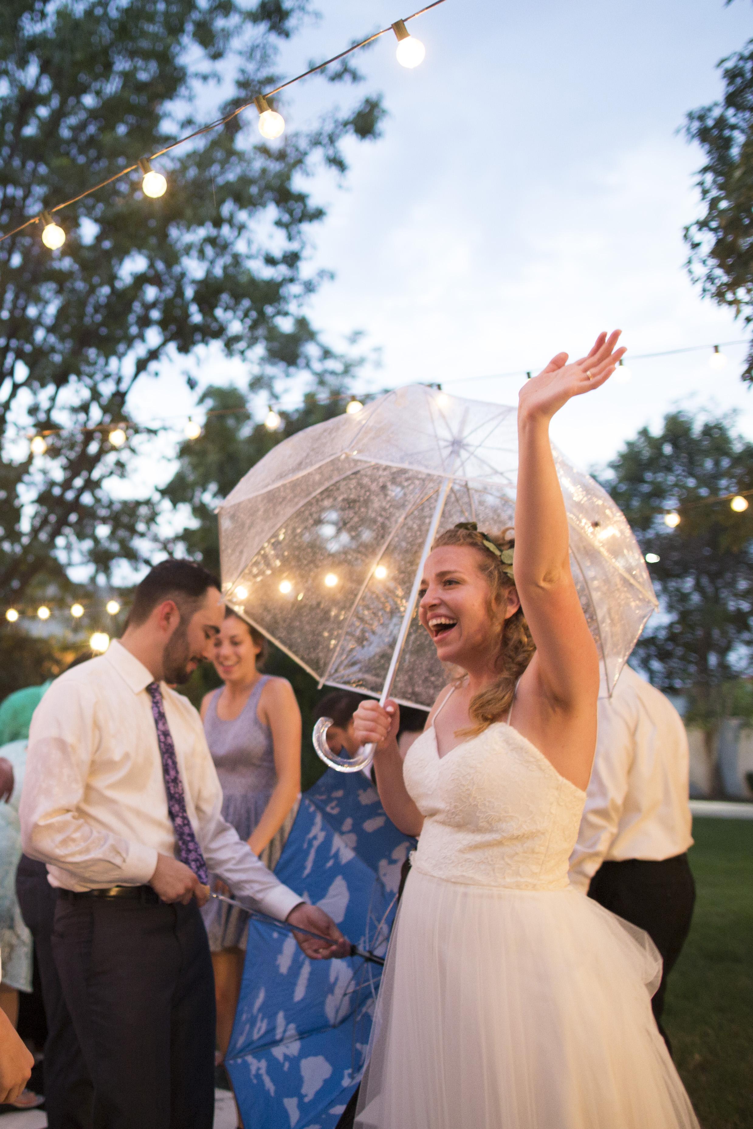 Pierce Wedding Rain Noriega House Bakersfield