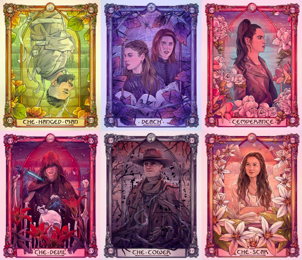 Wynonna Earp Tarot Cards