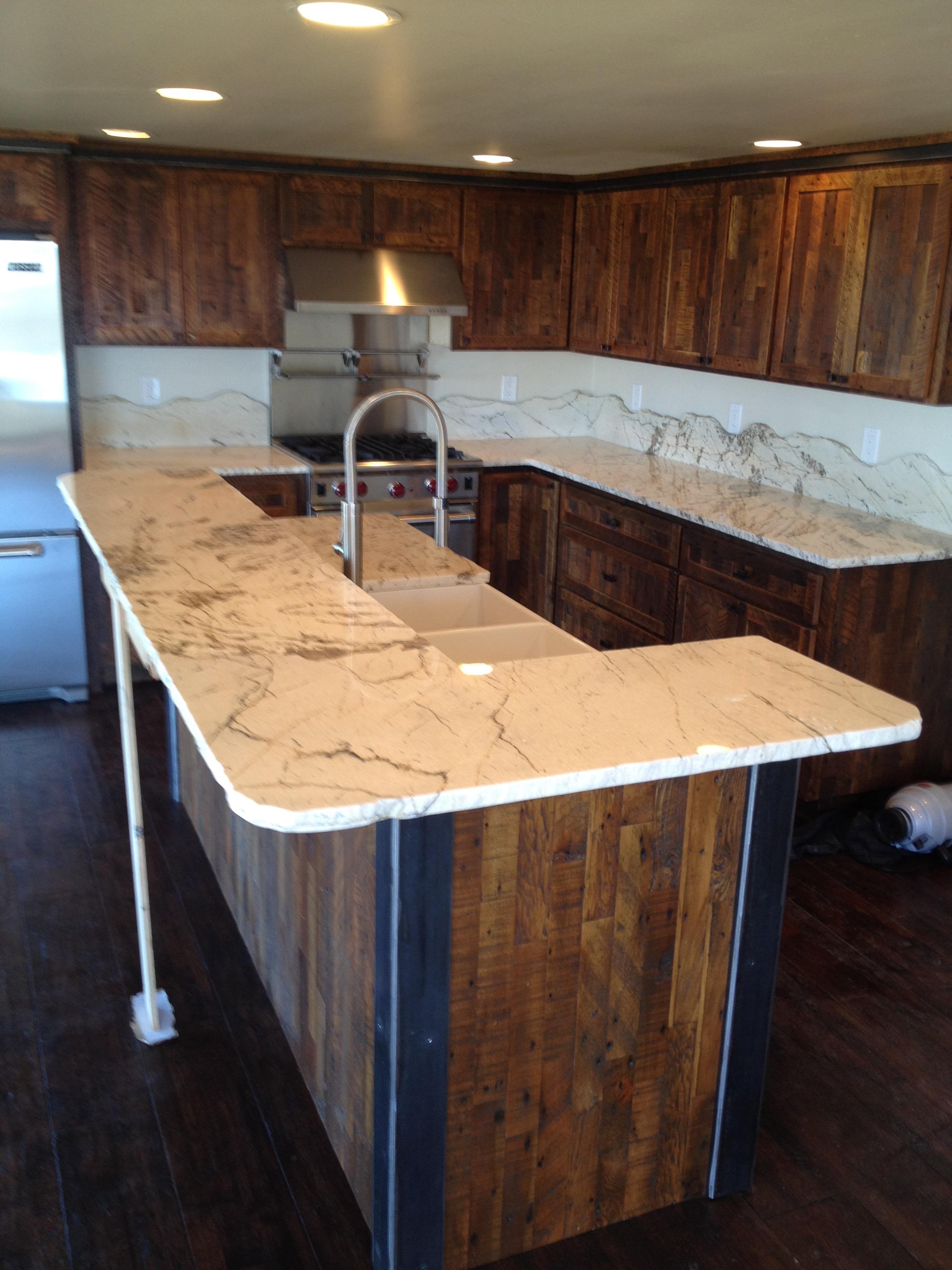 Custom Island & Cabinets