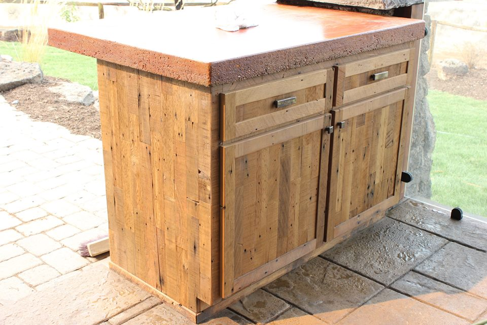 Custom Outdoor Cabinet