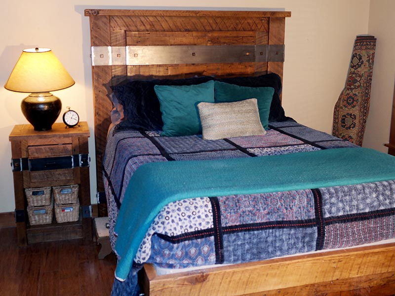 Bed Frame & Nightstand